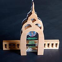 """Награда из дерева и акрила""""Зеркальная струя"""" КВН"""