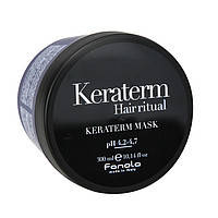 Маска для реконстр.повр. волос,KERATERM  Fanola,300 мл.