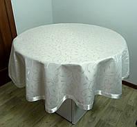 """Скатерть круглая для стола """"SIMLI"""" D 160 petal"""