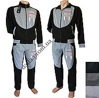 Мужской спортивный костюм (трикотаж) 81838k норма оптом в Одессе.