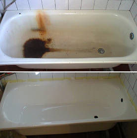 Услуги по реставрации ванн