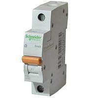 Автоматический выключатель  Schneider 1Р 25А тип C 4.5кА ВА63