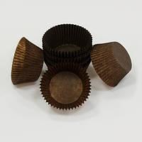 Форма для маффинов коричневые большие 50/40 мм Украина - 01115
