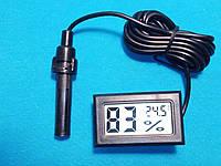 Мини гигрометр цифровой с датчиком в инкубатор