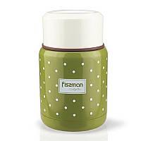 Термос для еды Fissman 9667, 350 мл, оливковый