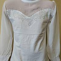 Блуза школьная для девочки. 6-12 лет, фото 1
