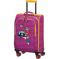 Чемодан детский Travelite Heroes Of The City на 4 колесах S, 34 л, розовый (TL081688-17)