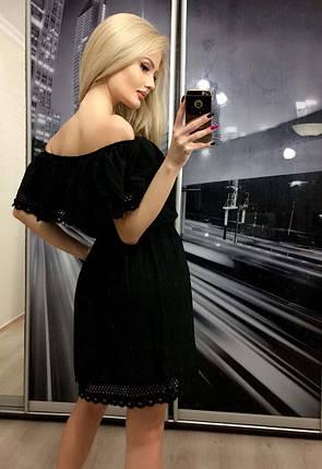 Платье «Brenda» Черное, фото 2