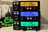 Радиостанция (рация) CB President BARRY ASC 12/24V (Автомобильная 27 МГЦ) для дальнобойщиков СИ-БИ, фото 6