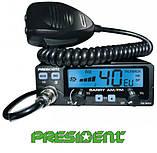 Радиостанция (рация) CB President BARRY ASC 12/24V (Автомобильная 27 МГЦ) для дальнобойщиков СИ-БИ, фото 9