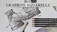 Акварельные чернографитные карандаши Graphite Aguarelle