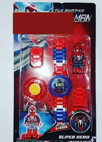 Дитячі годинники Людина павук