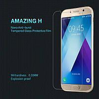 Защитное стекло Nillkin Samsung Galaxy A3 2017 A320 (Amazing H) (Самсунг А3 2017 А320 17)