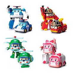 Трансформери Robocar Poli (Робокар Полі) комплект 4 шт