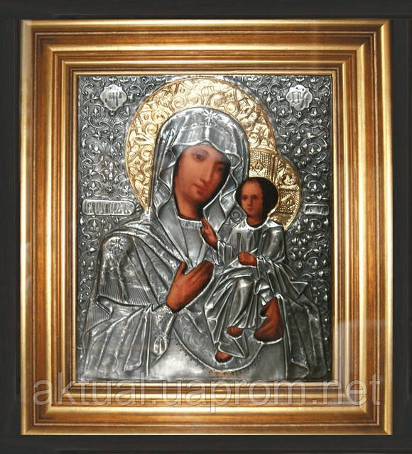 Икона Богоматерь Иверская ( из венчальной пары)