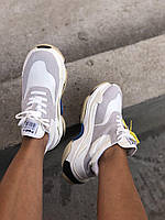 Модные женские кроссовки Triple S от Balenciaga (реплика), фото 1
