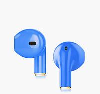 Беспроводный наушник SUNROZ Mini I8XT Bluetooth наушник вкладыш с сенсорным управлением Синий (SUN1291)