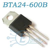 BTA24-600B, симистор 600В, 25А, TO220
