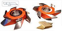 Фреза 125х32х25 для изготовления фасадной доски вагонки-планкена (03-707)