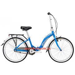 Складной велосипед Winner Ibiza 24 дюймов синий