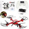 Квадрокоптер X300-2 р/управляемый 2,4GHz Sky Drone , аккум, свет, USB зарядное, запасные лопасти