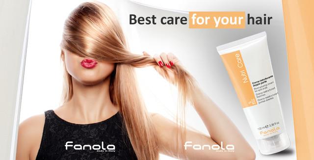 Уникальная система FANOLA для сохранения и восстановления структуры волос FIBER FIX