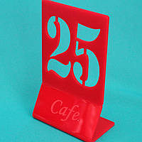 Номер на стол Z-образная, фото 1