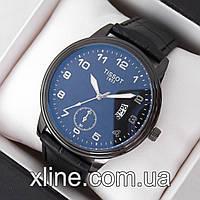 Мужские наручные часы Tissot T03 на кожаном ремешке