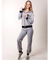 Спортивный костюм женский №10 (серый)