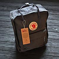 Рюкзак Fjallraven Kanken Classic - Grey   серый   16л   только для топовых ;)