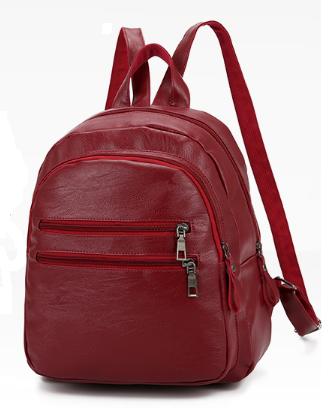 Рюкзак міський червоний