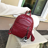 Рюкзак міський червоний, фото 2