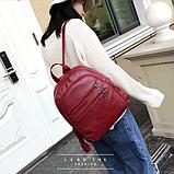 Рюкзак міський червоний, фото 4
