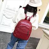Рюкзак міський червоний, фото 5