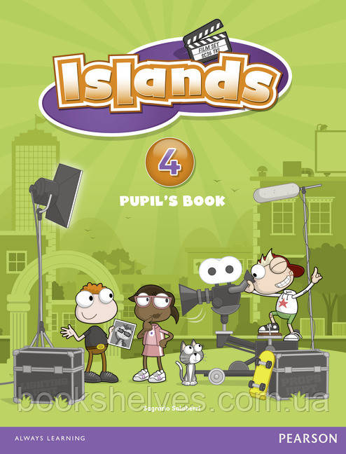Islands 4 Student's Book+pincode