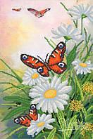 РКП-664 Схема для вишивки бісером Пурхають метелики.