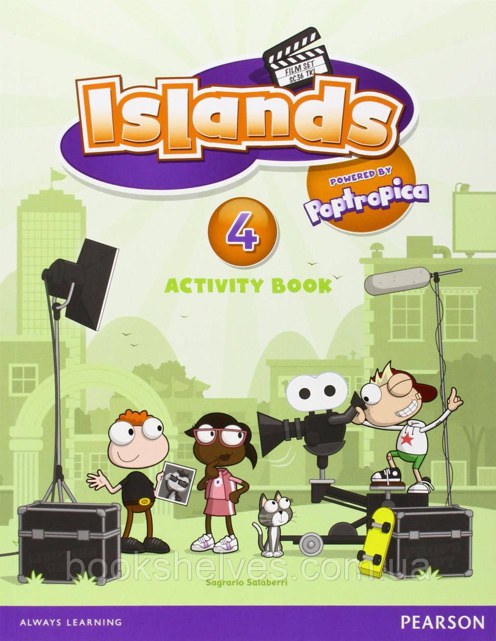 Islands 4 WorkBook+pincode