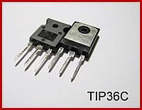 TIP36C,биполярный транзистор , n-p-n.