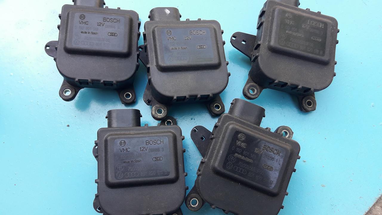 Моторчик сервопривод привод заслонки отопителя печки audi a4 b5 passat b5 superb 8d1820511b