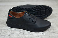 Мужские кожаные кроссовки Polo