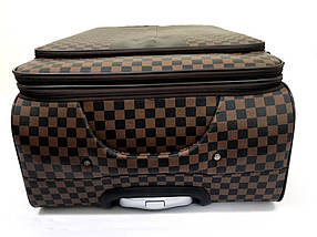 Чемодан средний в стиле Louis Vuitton (не оригинал) из высококачественной искусственной кожи, фото 3