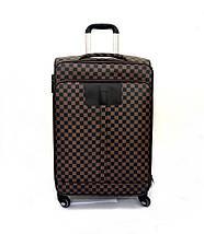Чемодан средний в стиле Louis Vuitton (не оригинал) из высококачественной искусственной кожи, фото 2