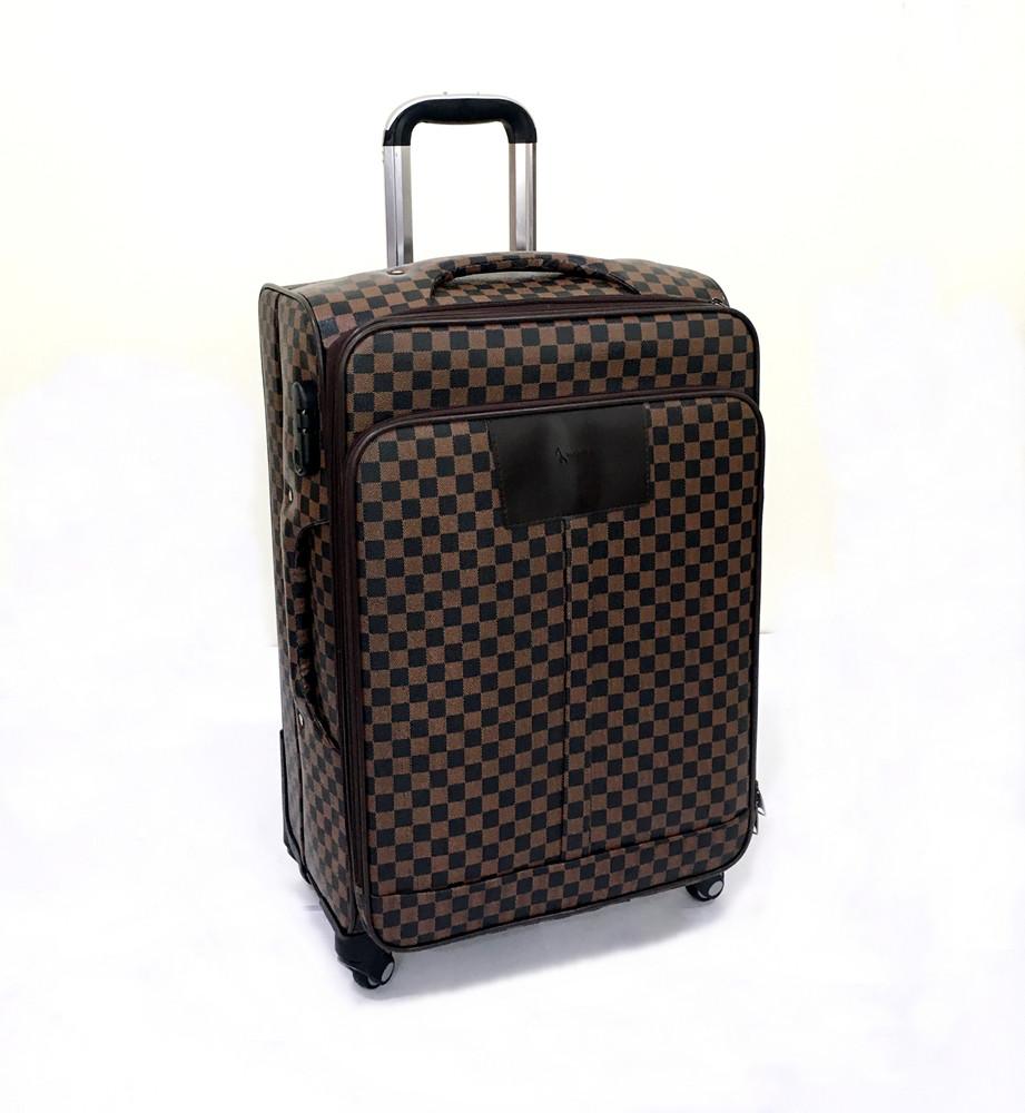 a25add8de4dc Чемодан маленький в стиле Louis Vuitton (не оригинал) из высококачественной  искусственной кожи - АксМаркет