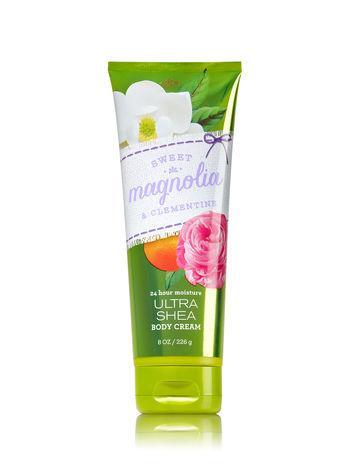 Крем для тела Bath&Body Works Sweet Magnolia & Clementine