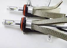 Комплект LED ламп  SLH15 LED, Цоколь H15 (PGS23t-1) Cree +Philips 25W Белый 5700K Canbus, фото 2