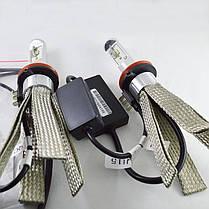 Комплект LED ламп  SLH15 LED, Цоколь H15 (PGS23t-1) Cree +Philips 25W Белый 5700K Canbus, фото 3