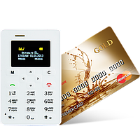 Телефон кредитка AIEK M5! Можно носить даже в кошельке!, фото 1
