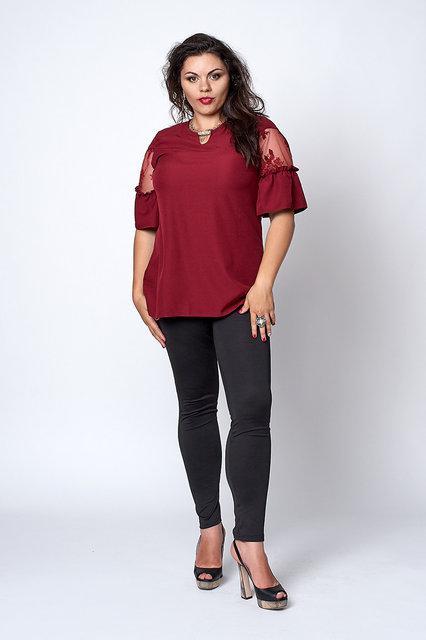 Блуза женская А-силуэта  711