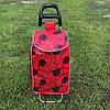 Тачка сумка с колесиками кравчучка Роза