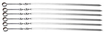 Шампура нержавеющая L 600 мм (шт)